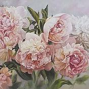 """Картины и панно ручной работы. Ярмарка Мастеров - ручная работа """"Нежность весны"""". Handmade."""