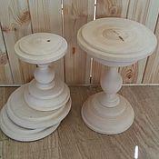 Свадебный салон ручной работы. Ярмарка Мастеров - ручная работа Подставки под пироженки, для стеклянного купола. Handmade.