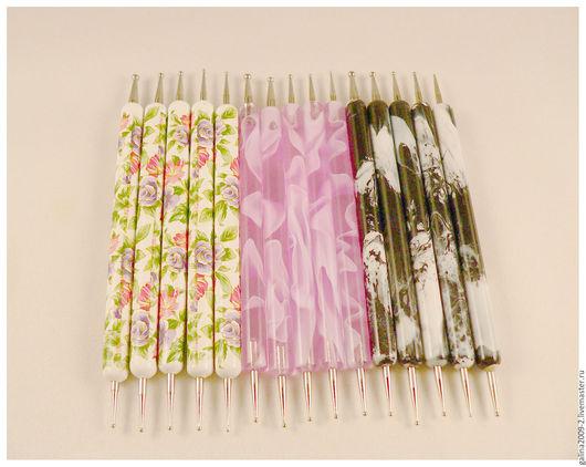 Другие виды рукоделия ручной работы. Ярмарка Мастеров - ручная работа. Купить Набор из 5 стеков - 3 разные ручки.. Handmade.