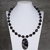 Украшения handmade. Livemaster - original item Natural Amethyst Necklace with a pendant natural amethyst. Handmade.