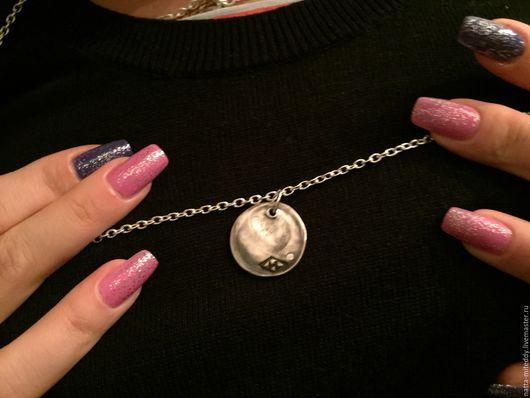 Кулоны, подвески ручной работы. Ярмарка Мастеров - ручная работа. Купить Медальон с отпечатком пальца. Handmade. Медальон со значением