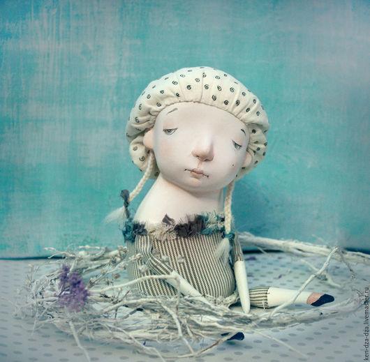 Коллекционные куклы ручной работы. Ярмарка Мастеров - ручная работа. Купить Лёля. Handmade. Чёрно-белый, кукла ручной работы