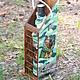 Персональные подарки ручной работы. Ярмарка Мастеров - ручная работа. Купить Набор бутылка в коробе с фотографией. Handmade. Подарок, фотография