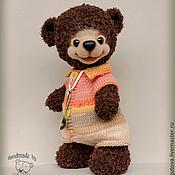 Куклы и игрушки ручной работы. Ярмарка Мастеров - ручная работа Медвежонок Тимоша - вязаная игрушка. Handmade.