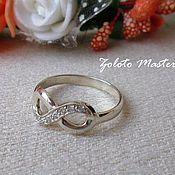Украшения handmade. Livemaster - original item Ring Infinity 925 sterling Silver. Handmade.