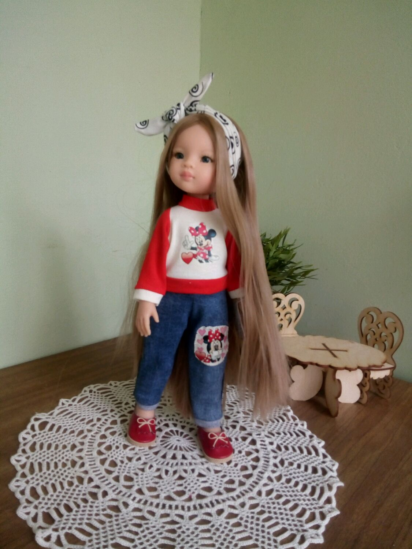 """Комплект """"Минни Маус"""" для Паола Рейна, Одежда для кукол, Самара, Фото №1"""