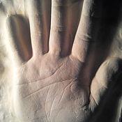 Фен-шуй и эзотерика ручной работы. Ярмарка Мастеров - ручная работа Отпечаток ладони. Handmade.