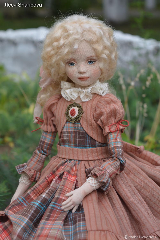 Сollectible textile doll Sasha, Dolls, Tolyatti,  Фото №1