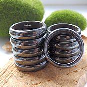 Украшения handmade. Livemaster - original item Ring Magnetic hematite 19 R-R. Handmade.