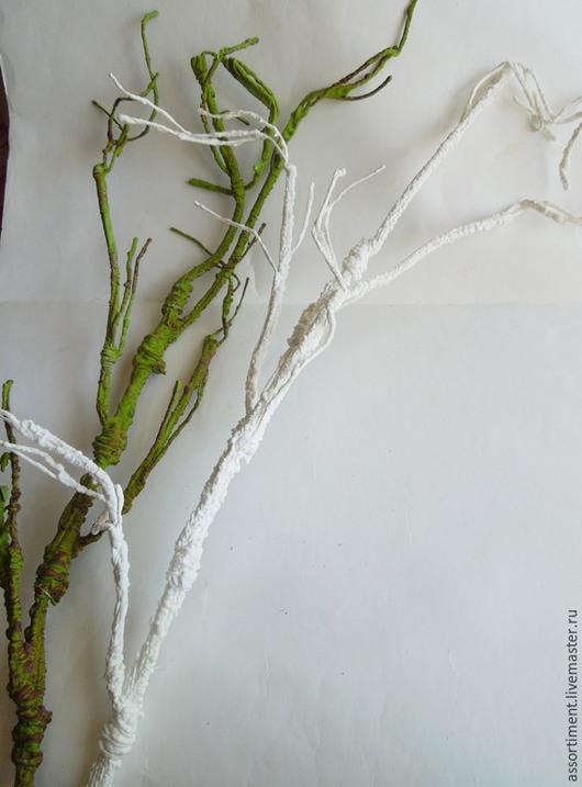 Материалы для флористики ручной работы. Ярмарка Мастеров - ручная работа. Купить Ветка декоративная ( гнущаяся ) 120см. Handmade.