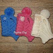 Для домашних животных, handmade. Livemaster - original item caps for mini dogs