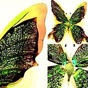 Для дома и интерьера ручной работы. Ярмарка Мастеров - ручная работа Интерьерная скульптура из стекла -  Бабочка Акико. Handmade.