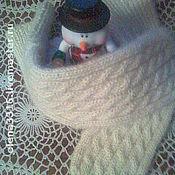Аксессуары ручной работы. Ярмарка Мастеров - ручная работа Варежки женские Пух + альпака (1). Handmade.