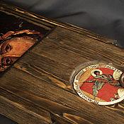 Сувениры и подарки handmade. Livemaster - original item Wooden gift box for icons. Handmade.