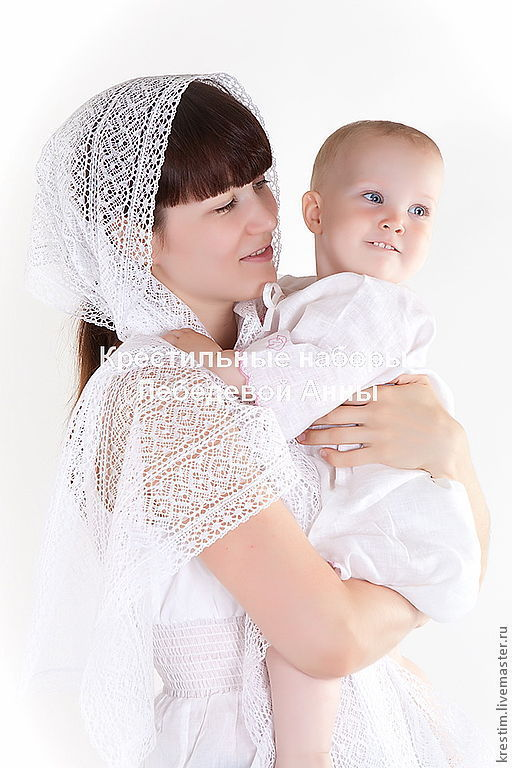 Lace scarf for godmother or mother, Gifts for godparents, Moscow,  Фото №1