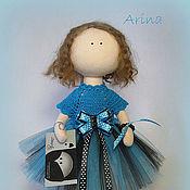 Куклы и игрушки handmade. Livemaster - original item Interior Textile Doll Arina. Dolls. Handmade.