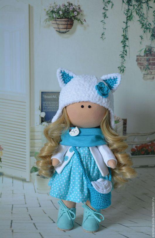Куклы тыквоголовки ручной работы. Ярмарка Мастеров - ручная работа. Купить Текстильная куколка Кэти. Handmade. Кукла ручной работы