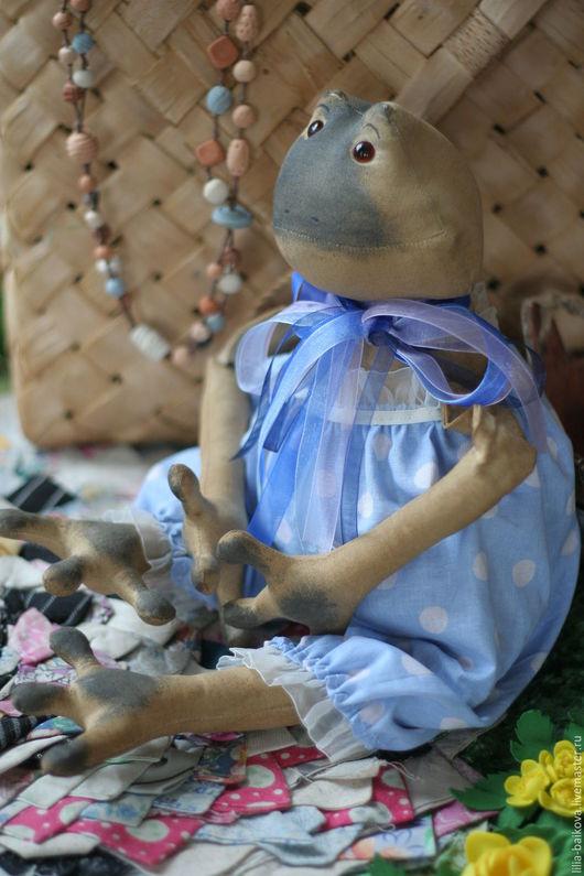 Ароматизированные куклы ручной работы. Ярмарка Мастеров - ручная работа. Купить Лягуша. Handmade. Бежевый, интерьерная игрушка, сувениры и подарки