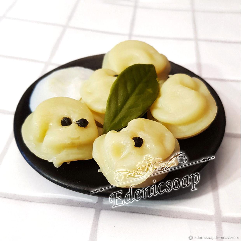 Soaps handmade. Livemaster - handmade. Buy 'The dumplings in the dish' soap handmade gift to man the interior.