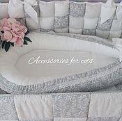 Работы для детей, handmade. Livemaster - original item Nest, a cocoon for the baby. Handmade.