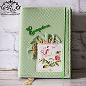 Канцелярские товары handmade. Livemaster - original item Diary Of A Doting Mother. Notebook in soft cover. diary.. Handmade.