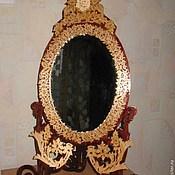 Для дома и интерьера ручной работы. Ярмарка Мастеров - ручная работа Настольное зеркало. Handmade.