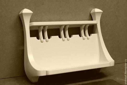 Мебель ручной работы. Ярмарка Мастеров - ручная работа. Купить Полочка для мелочей. Handmade. Полочка, оригинальный дизайн, слоновая кость