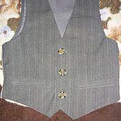 Одежда ручной работы. Ярмарка Мастеров - ручная работа Жилетка мужская, классическая.. Handmade.