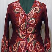 """Одежда ручной работы. Ярмарка Мастеров - ручная работа Жакет """"Оксамит"""". Handmade."""