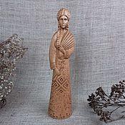 Русский стиль handmade. Livemaster - original item Makosh, Slavic pagan goddess, wooden figurine. Handmade.