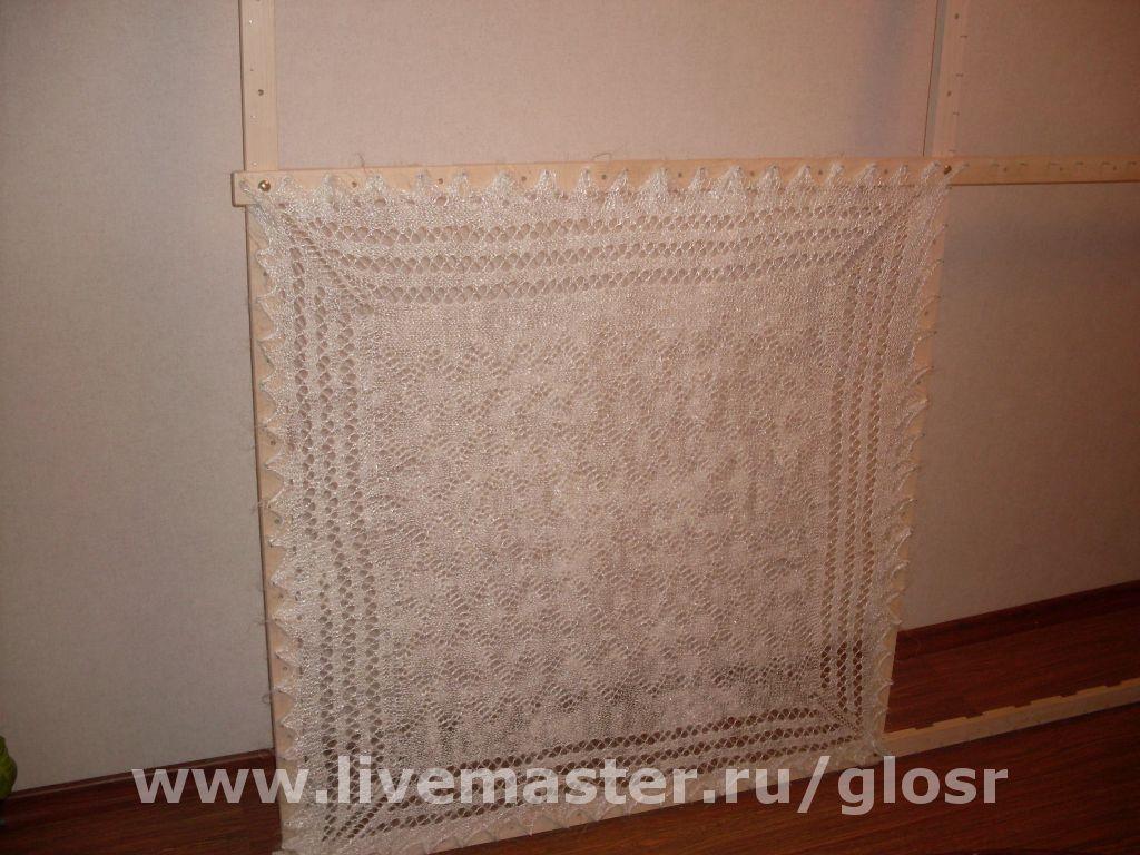 Рамка для сушки пухового платка своими руками