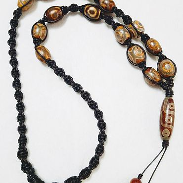 Decorations handmade. Livemaster - original item Necklace with beads JI. Handmade.