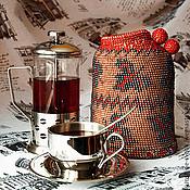 Для дома и интерьера ручной работы. Ярмарка Мастеров - ручная работа Грелка на чайник. Handmade.