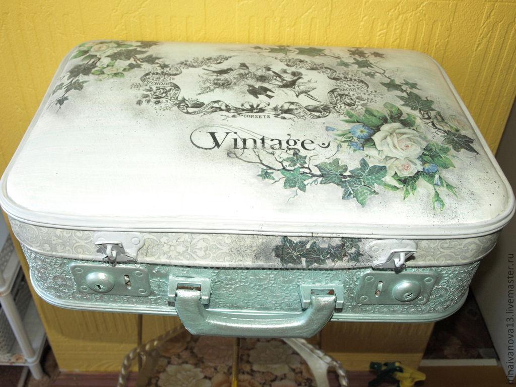 Старый чемодан своими руками