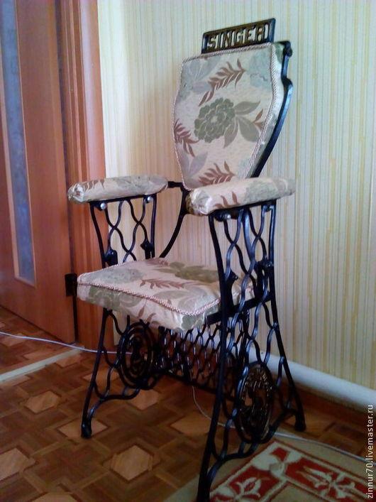 Мебель ручной работы. Ярмарка Мастеров - ручная работа. Купить туалетный столик и стул. Handmade. Золотой, Литье, столик, зеркало