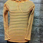 Одежда handmade. Livemaster - original item Knitted jumper with hood. Handmade.