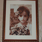 """Картины ручной работы. Ярмарка Мастеров - ручная работа Картина """"Паула"""". Handmade."""