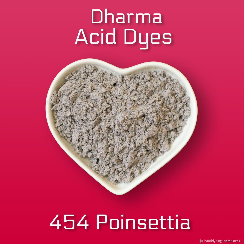 Краситель 454 Poinsettia, Dharma Acid Dyes, Материалы для валяния, Севастополь,  Фото №1