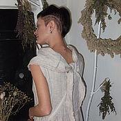 """Одежда ручной работы. Ярмарка Мастеров - ручная работа Платье""""Босиком по облакам""""+торбочка(бохо). Handmade."""