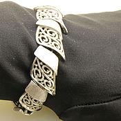 "Винтаж ручной работы. Ярмарка Мастеров - ручная работа CROWN TRIFARI, винтажный браслет  ""Silver ""(№736). Handmade."