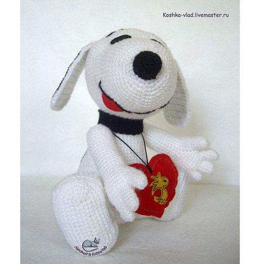 Snoopy, авторская мягкая игрушка