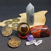 Фен-шуй и эзотерика handmade. Livemaster - original item Set of stones, crystals For good luck. Handmade.