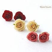 Украшения handmade. Livemaster - original item Earrings with flowers