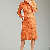 """Одежда ручной работы. Ярмарка Мастеров - ручная работа Вязанное платье """"Изабелла """". Handmade."""