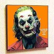 Картины и панно handmade. Livemaster - original item Picture Poster of The Joker 4 Joaquin Phoenix DC Comics Pop Art. Handmade.
