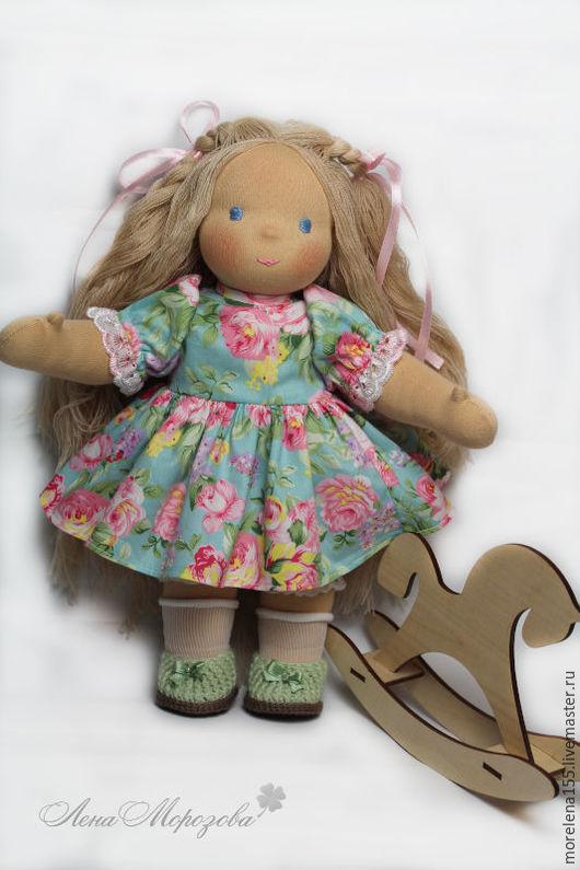 Вальдорфская игрушка ручной работы. Ярмарка Мастеров - ручная работа. Купить Маняша. Handmade. Бежевый, вальдорф, текстильная кукла