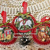 Сувениры и подарки handmade. Livemaster - original item A set of felt toys