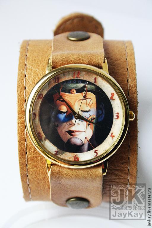 "Часы ручной работы. Ярмарка Мастеров - ручная работа. Купить Часы наручные JK ""Египетская царица"". Handmade. Наручные часы"