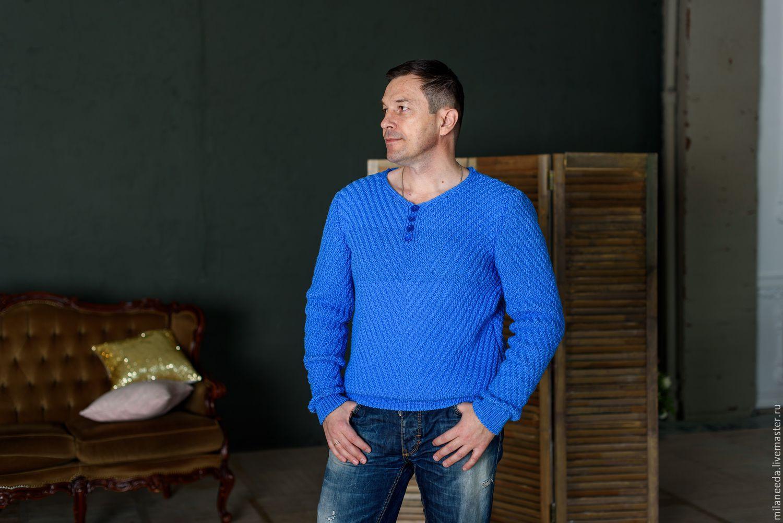 Как связать мужской свитер мастер-класс