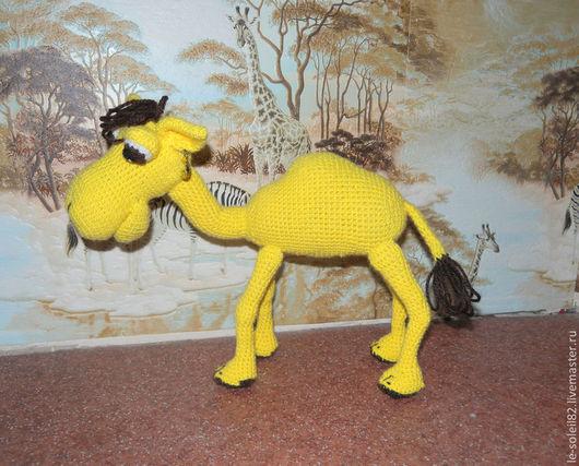Игрушки животные, ручной работы. Ярмарка Мастеров - ручная работа. Купить Верблюд Вальдемар. Handmade. Игрушка ручной работы, синтепон